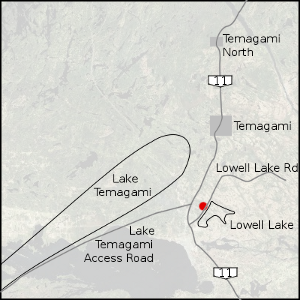 Map of Temagami Region