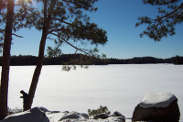 Winter on Lowell Lake